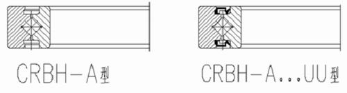 CRBH-A交叉滚子轴承结构图